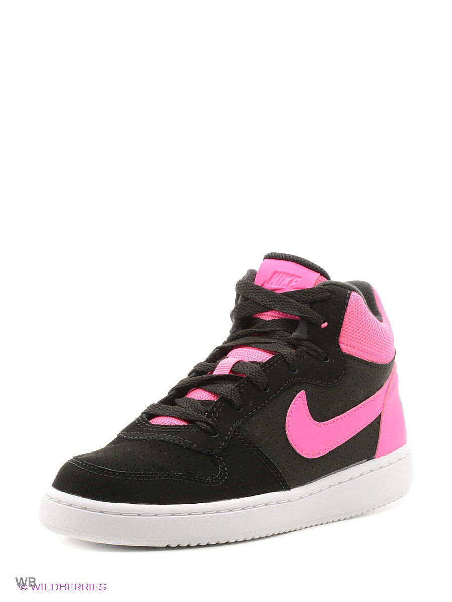 Кеды Nike Кеды NIKE COURT BOROUGH MID (GS) кеды nike кеды force 1 mid ps