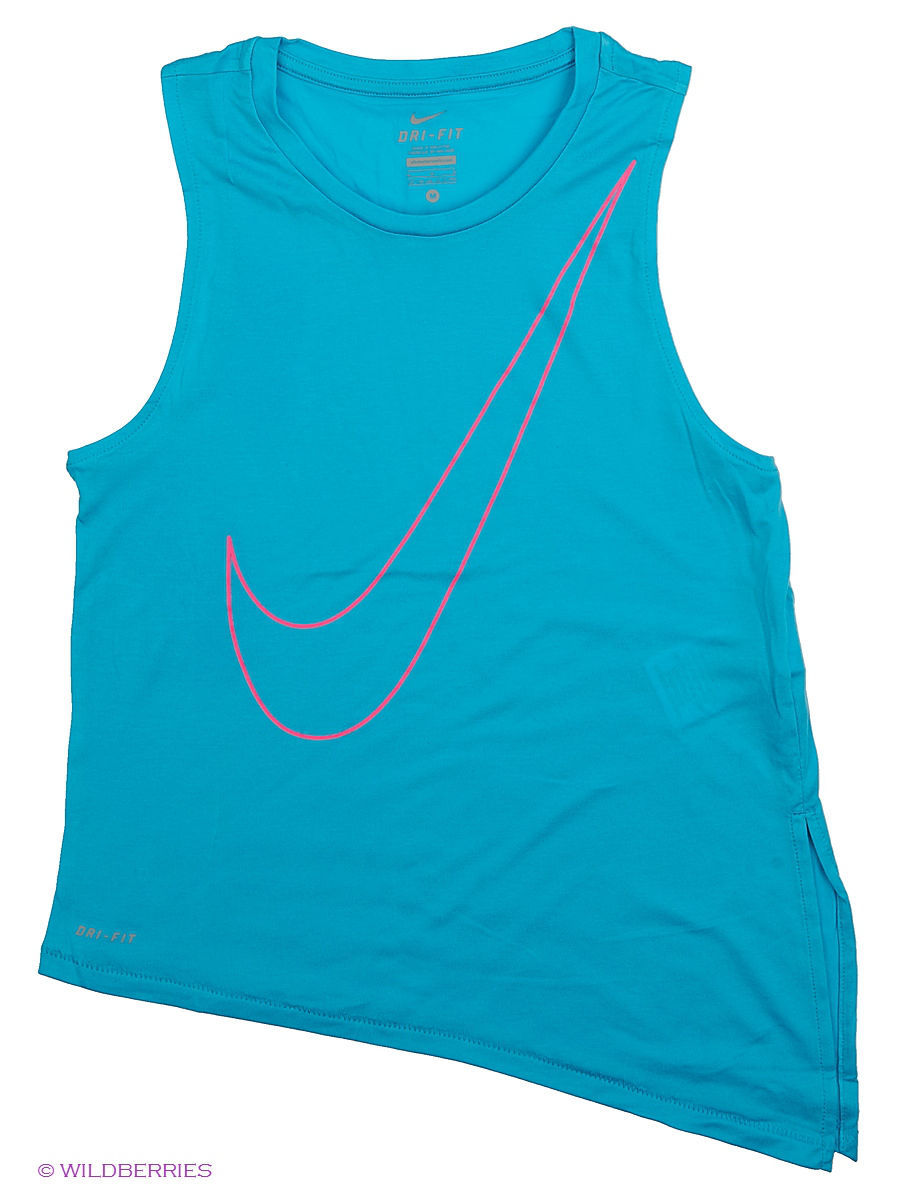 Топ NIKE SIDE TIE TOP YTH 727996-418