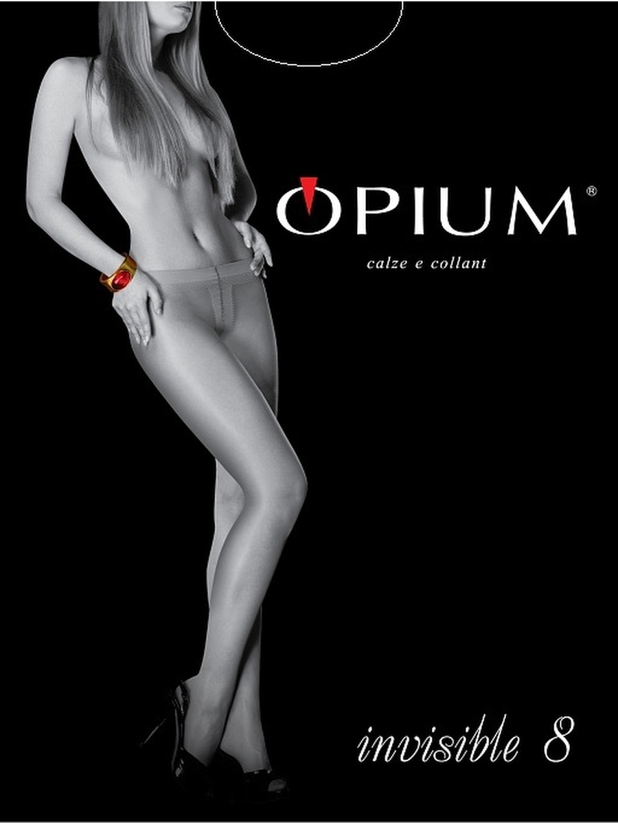 Колготки OPIUM Invisible8/nero