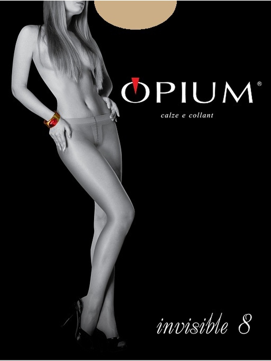 Колготки OPIUM Invisible8/noisette