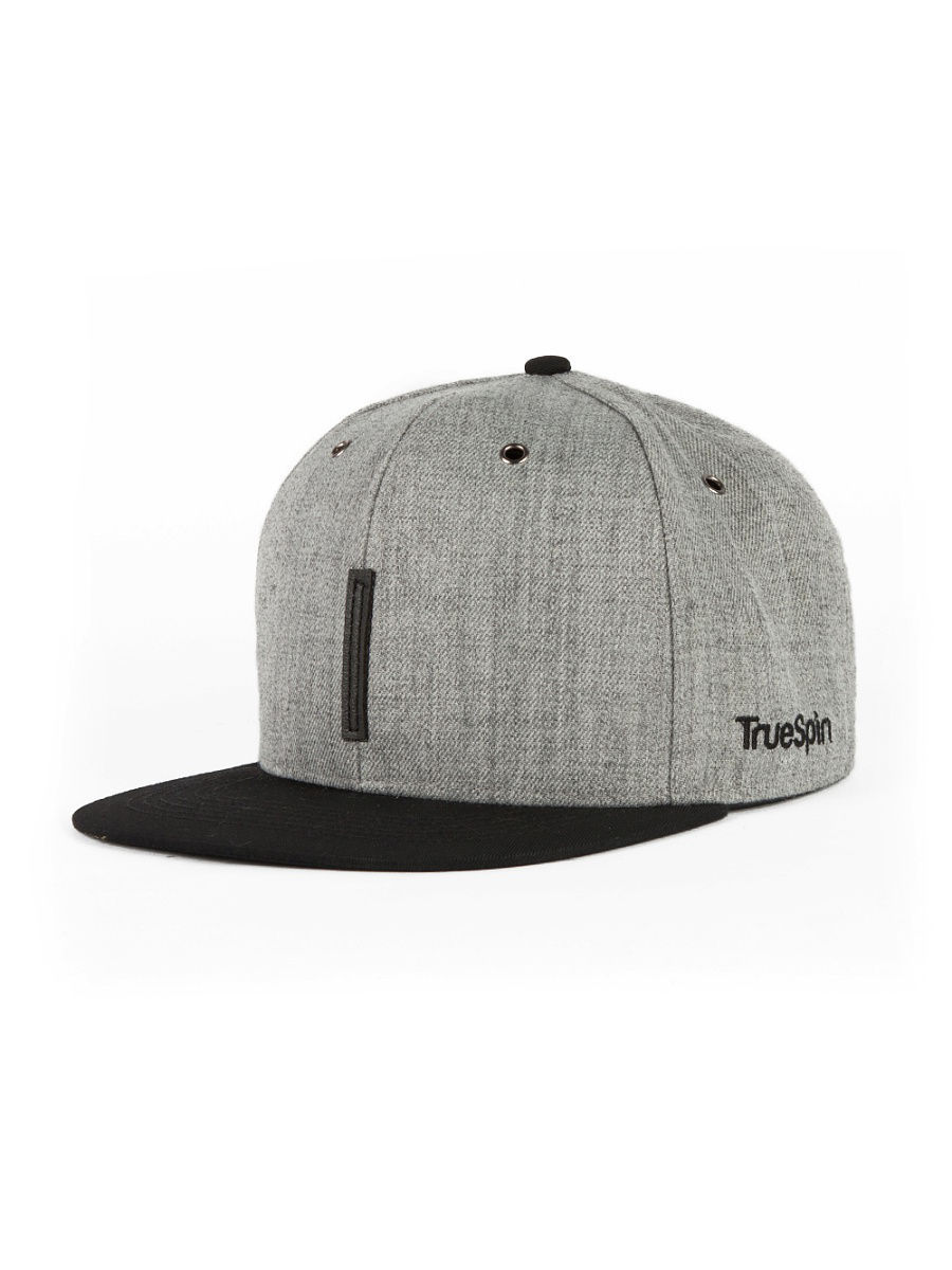 Бейсболка True Spin TS-ABC16/DarkGrey/BlackLeather-I