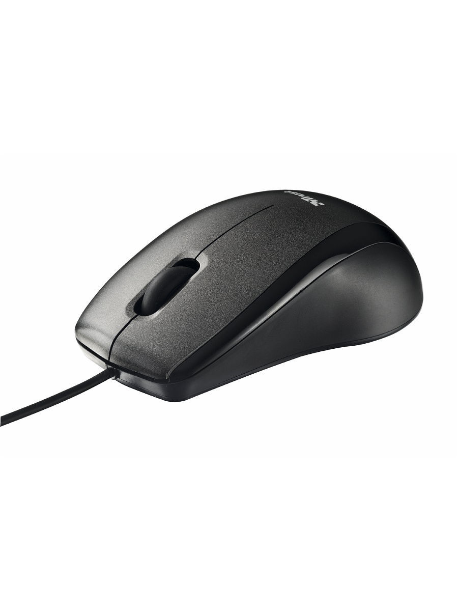 Мышь 15862  Trust Carve USB Optical Mouse Black