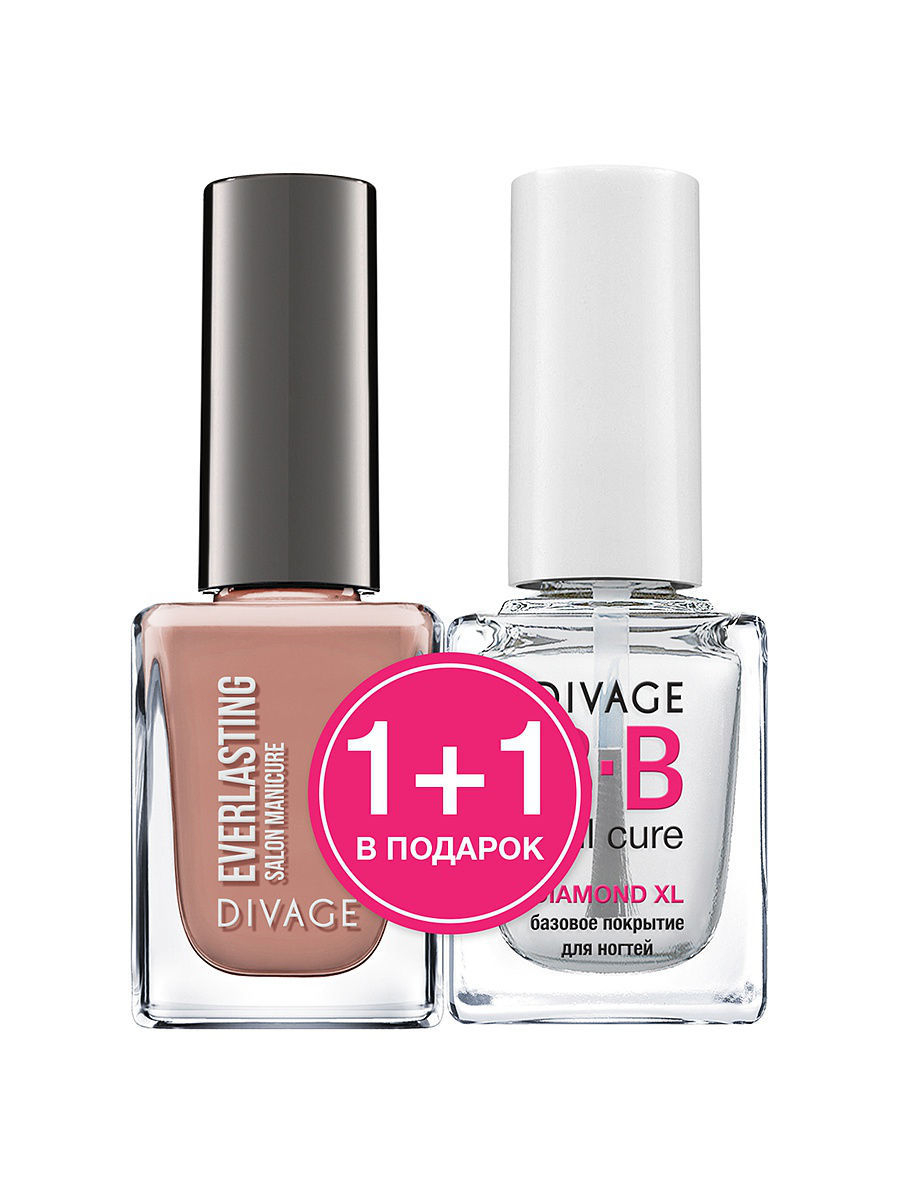 "��� ��� ������ ""EVERLASTING"" � 09 + ������� �������� ""DIAMOND XL"" BB nail cure DIVAGE 013278"