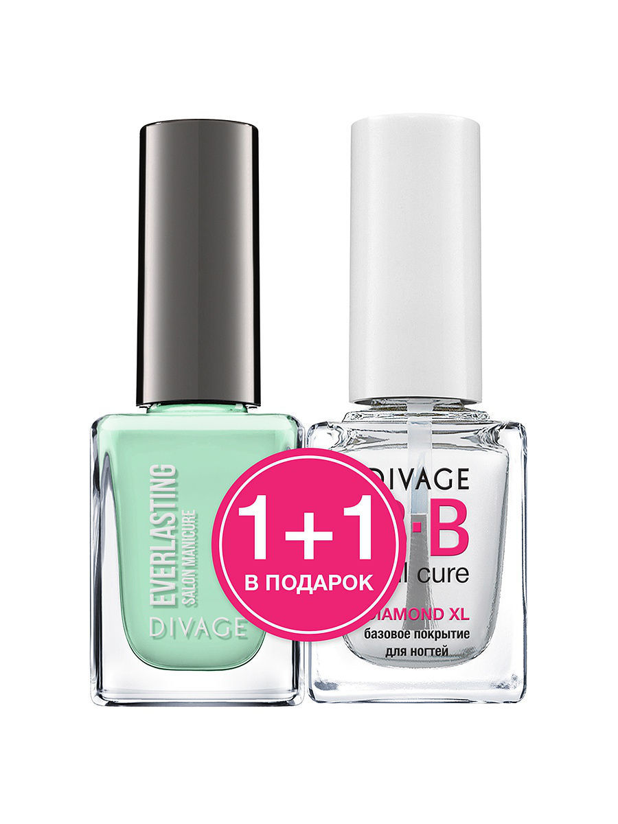 "��� ��� ������ ""EVERLASTING"" � 14 + ������� �������� ""DIAMOND XL"" BB nail cure DIVAGE 013308"