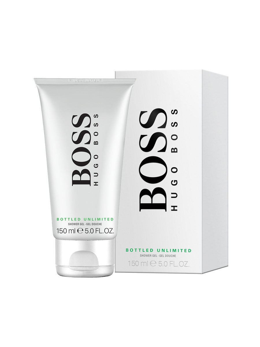 "Гель для душа ""Hugo Boss Bottled Unlimited"", 150 мл. 0730870164495"