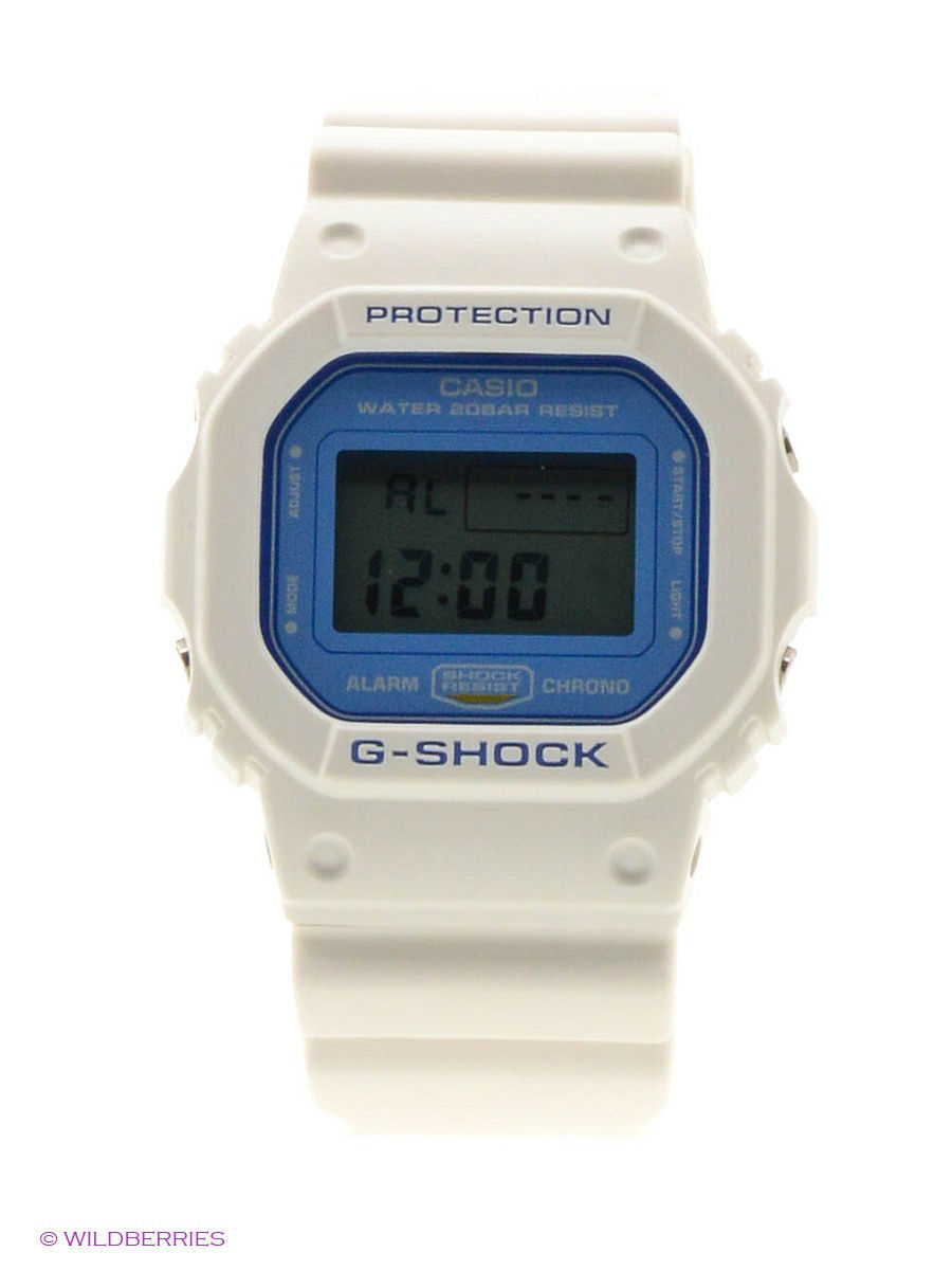 Часы наручные CASIO Часы G-Shock DW-5600WB-7E casio g shock 5600