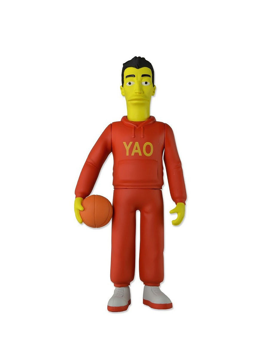 Фигурки-игрушки Neca Фигурка The Simpsons 5 Series 1 - Yao Ming фигурки neca фигурка the hunger games catching fire 7 series 1 finnick 3шт