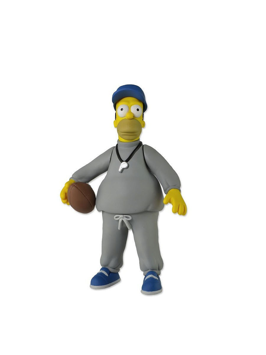 Фигурки-игрушки Neca Фигурка The Simpsons 5 Series 1 - Coach Homer фигурки neca фигурка the hunger games catching fire 7 series 1 finnick 3шт