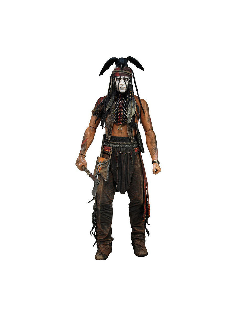 "Фигурка ""The Lone Ranger 7"" Series 1 - Tonto Deluxe /3шт Neca 47527/47529"