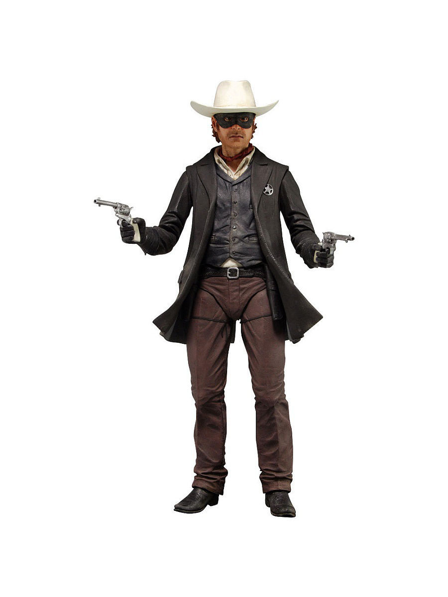 "Фигурка ""The Lone Ranger 1/4"" Series 1 - Lone Ranger /2шт Neca 47531"