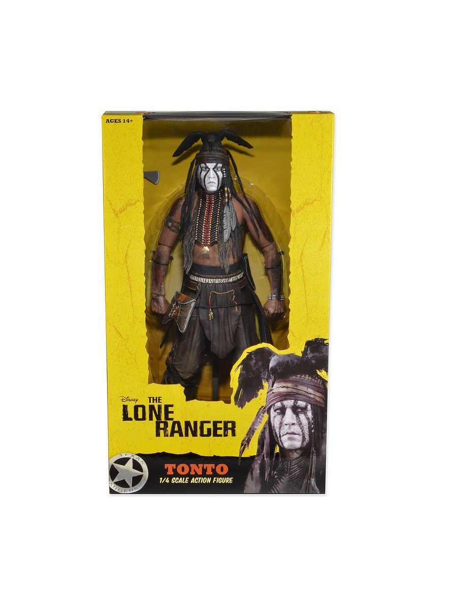 Фигурки-игрушки Neca Фигурка The Lone Ranger 1/4 Series 1 - Tonto /2шт фигурки neca фигурка the hunger games catching fire 7 series 1 finnick 3шт