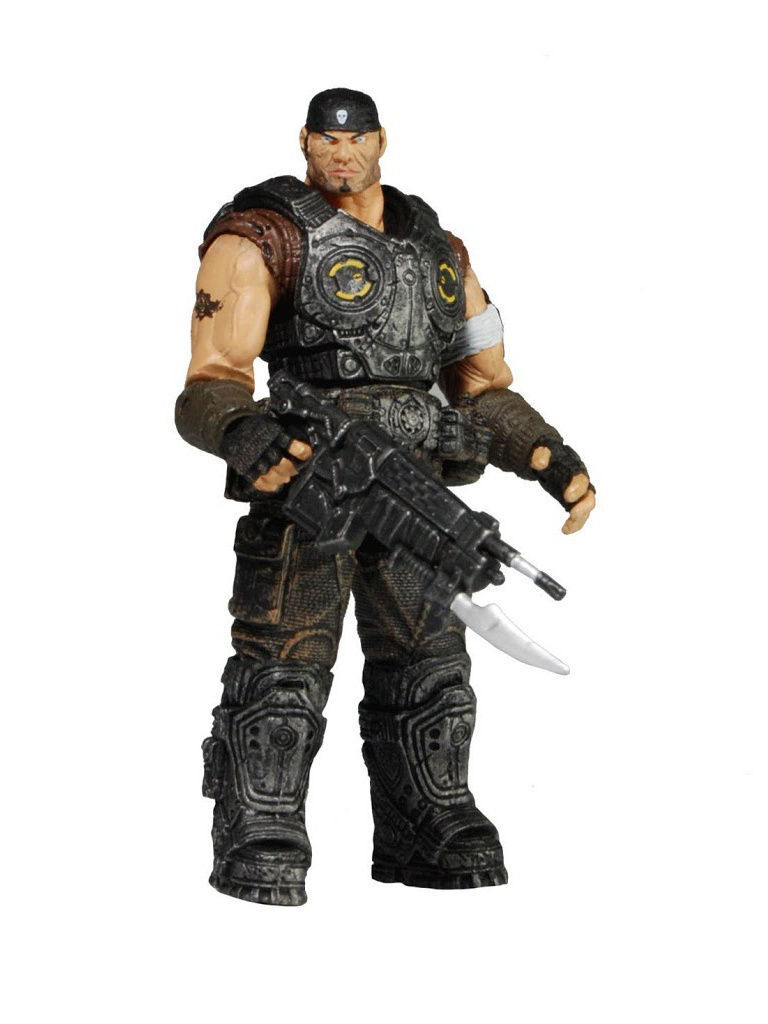 Фигурки-игрушки Neca Фигурка Gears of War 3 3/4 Series 1 - Marcus Fenix /6шт xbox one gears of war 4 ultimate