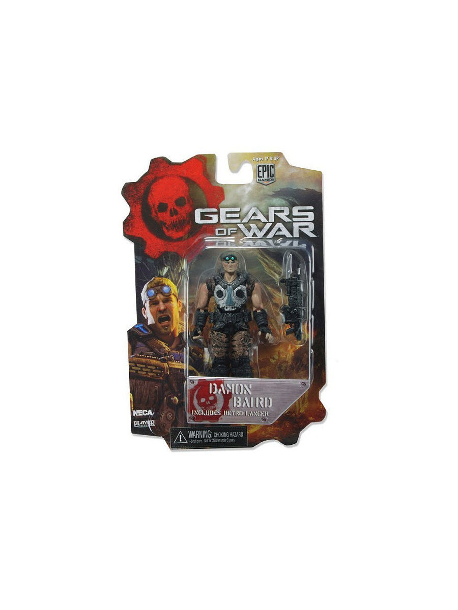 Фигурки-игрушки Neca Фигурка Gears of War 3 3/4 Series 1 - Damon Baird /4шт xbox one gears of war 4 ultimate