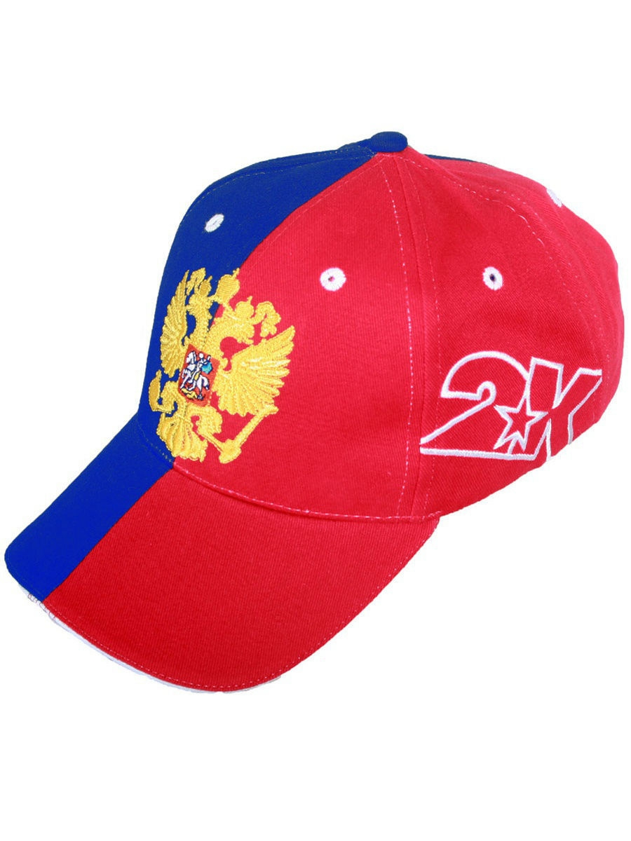 Бейсболка 2K 124236n/royal/red