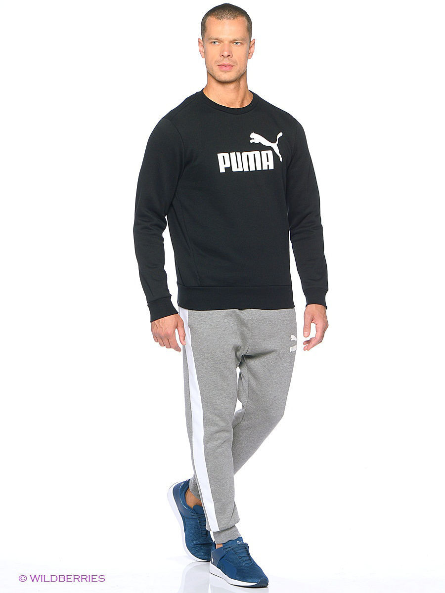 Свитшоты PUMA Свитшот ESS No.1 Crew Sweat, FL толстовка alpha block crew fl