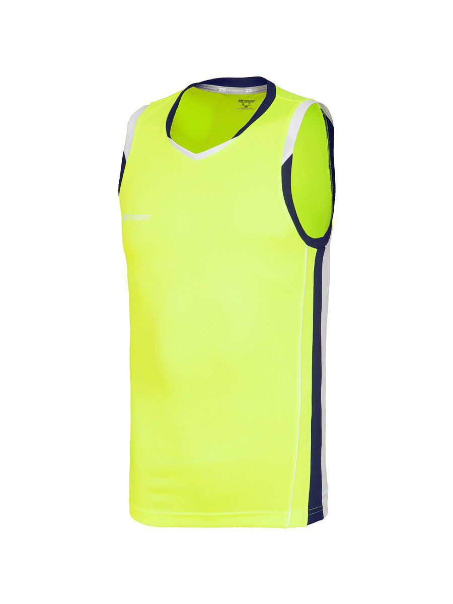 Футболка 2K 130030/neon-lemon/navy/white: изображение 2