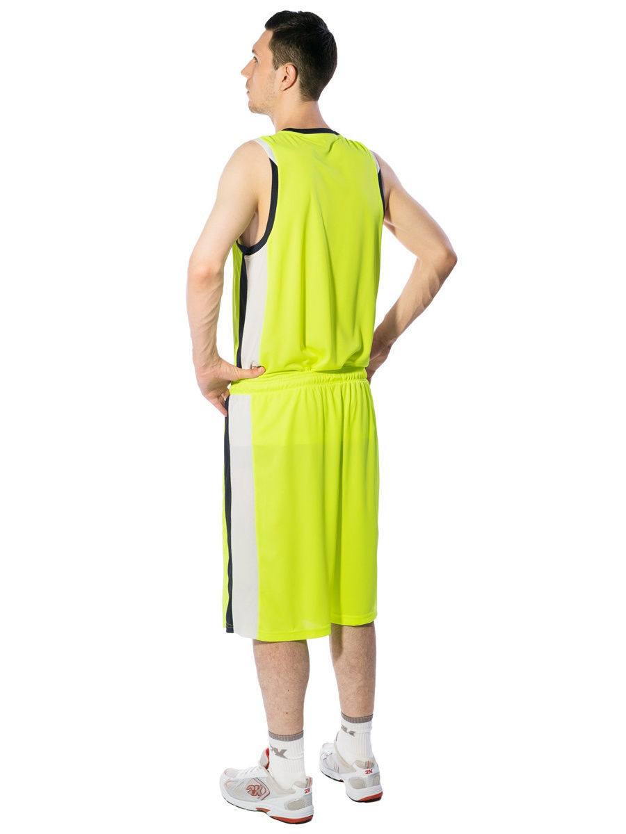 Футболка 2K 130030/neon-lemon/navy/white: изображение 3