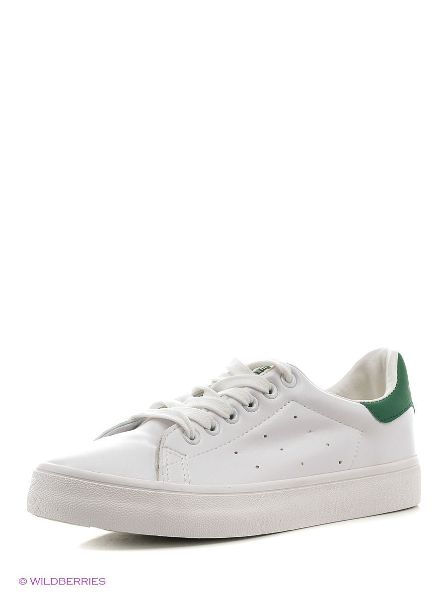 Женские кеды RENZONI RNZ-639H/WHITE-GREEN
