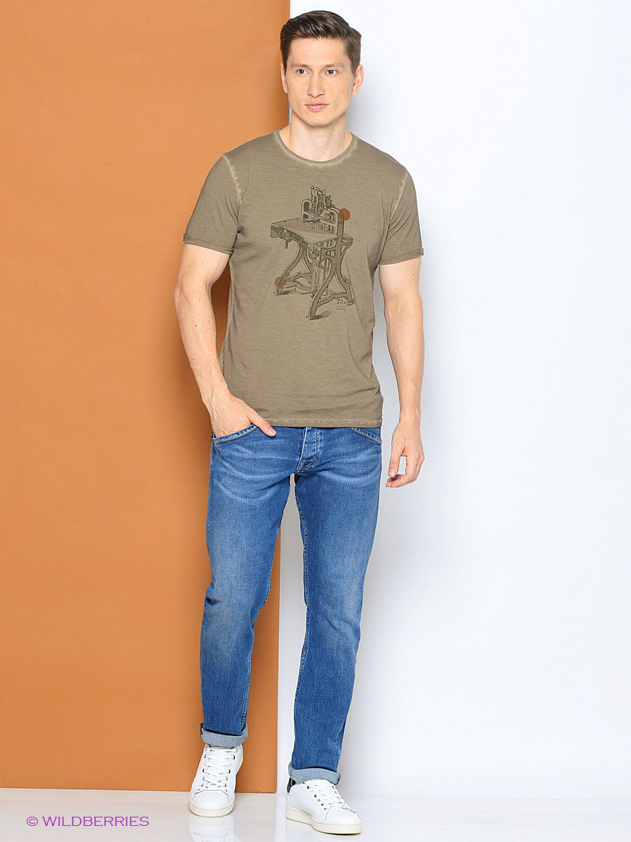 Футболка Pepe Jeans London PM503200/856