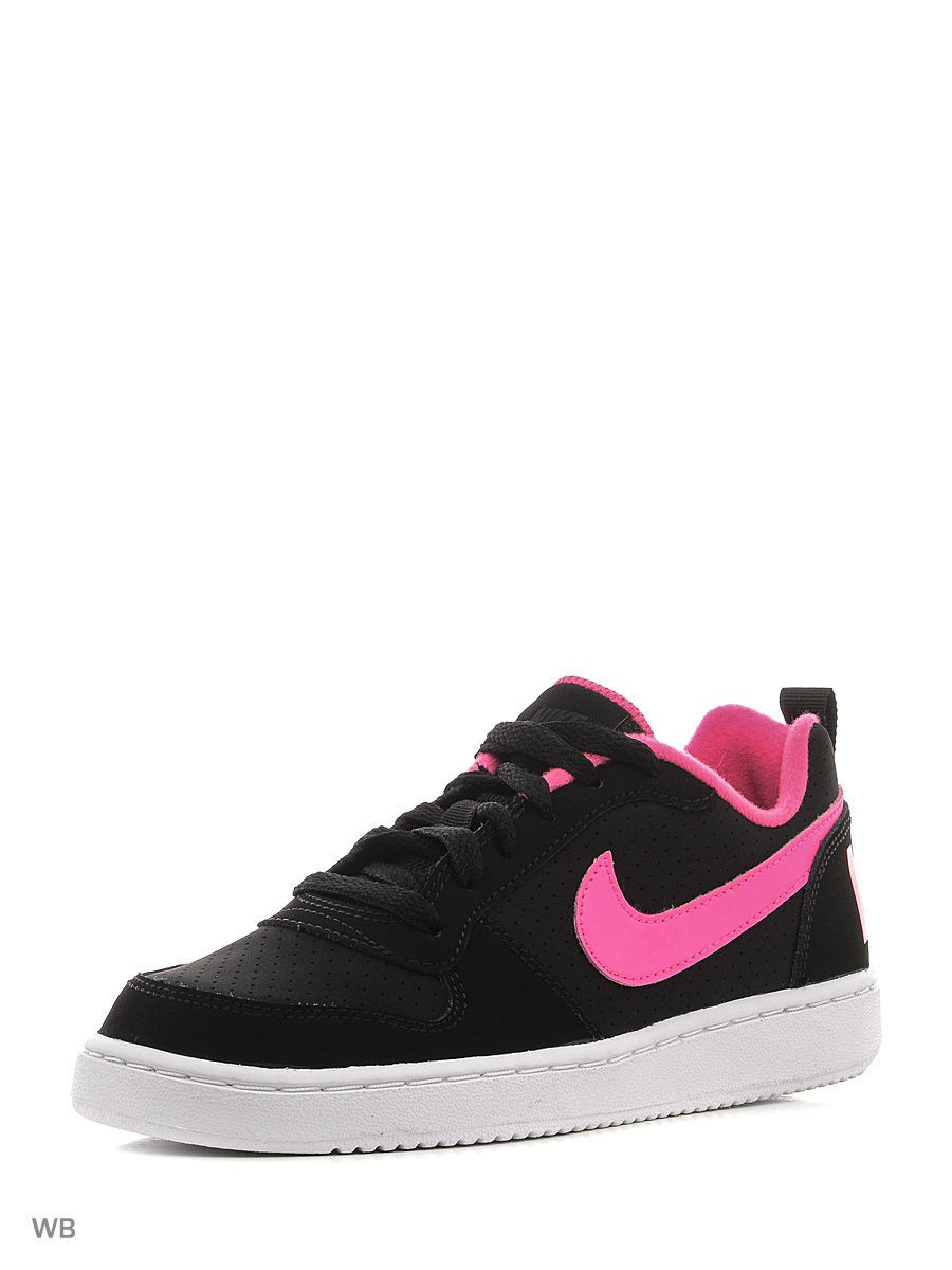 Кеды Nike Кеды NIKE COURT BOROUGH LOW (GS) кеды nike кеды nike court borough mid ps