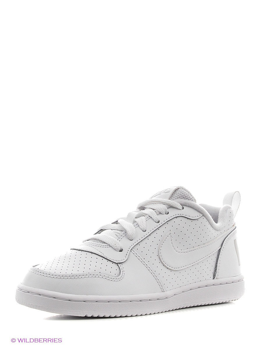 Кеды NIKE COURT BOROUGH LOW (PS) 839986-100