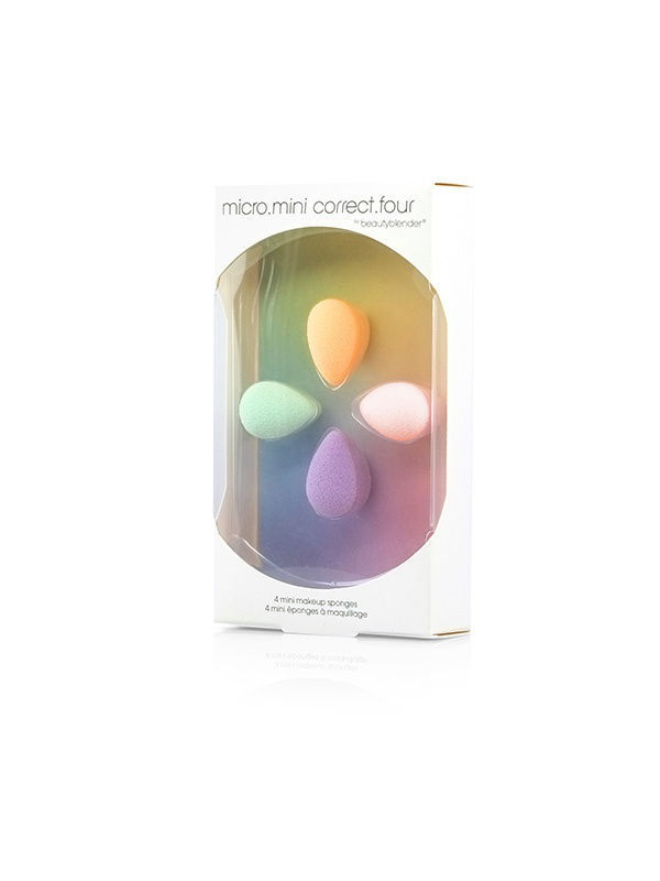 Спонжи Beautyblender Спонжи beautyblender micro.mini correct.four спонжи beautyblender спонж beautyblender original и мини мыло для очистки solid blendercleanser