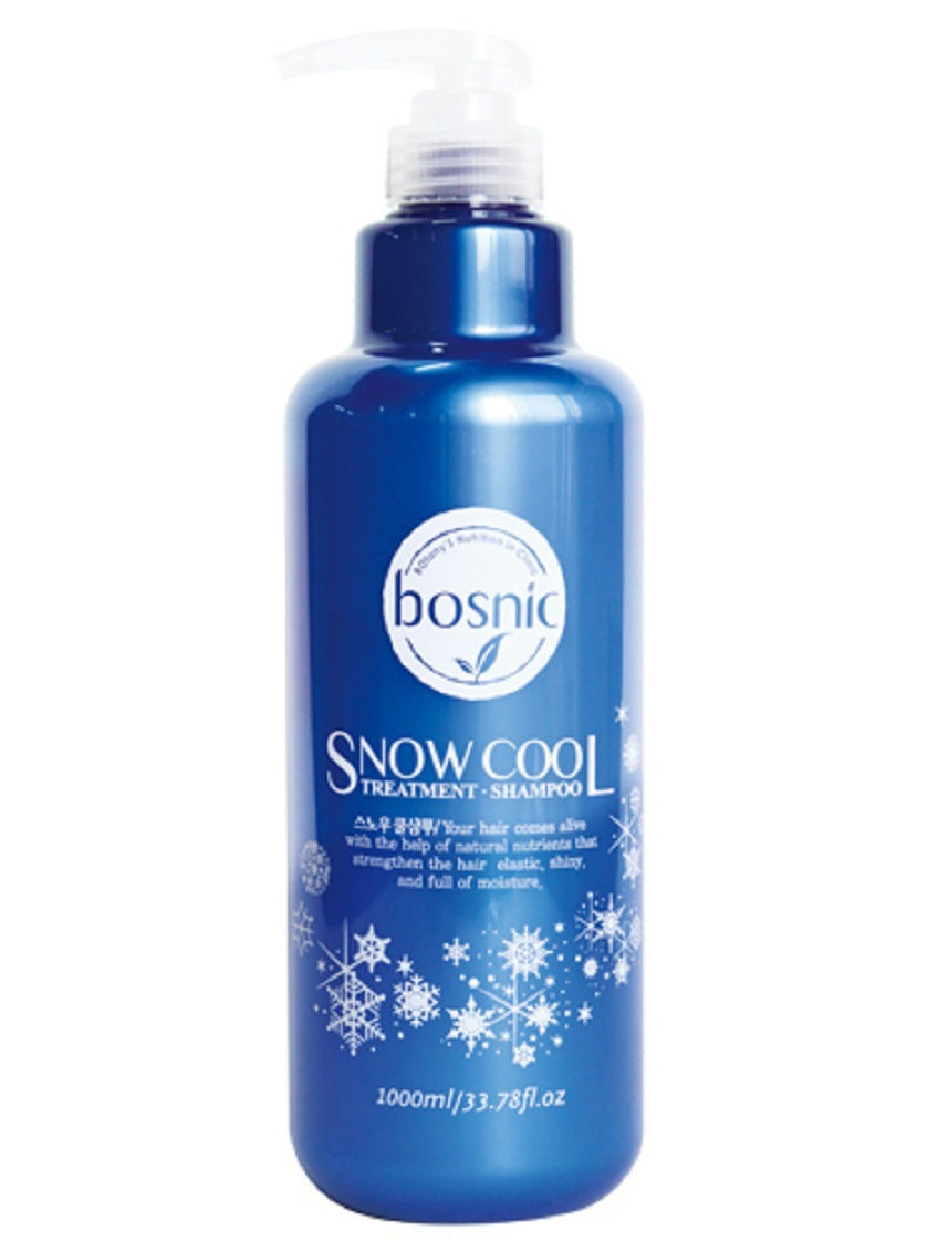 Шампунь SNOW COOL 1000 ml Bosnic