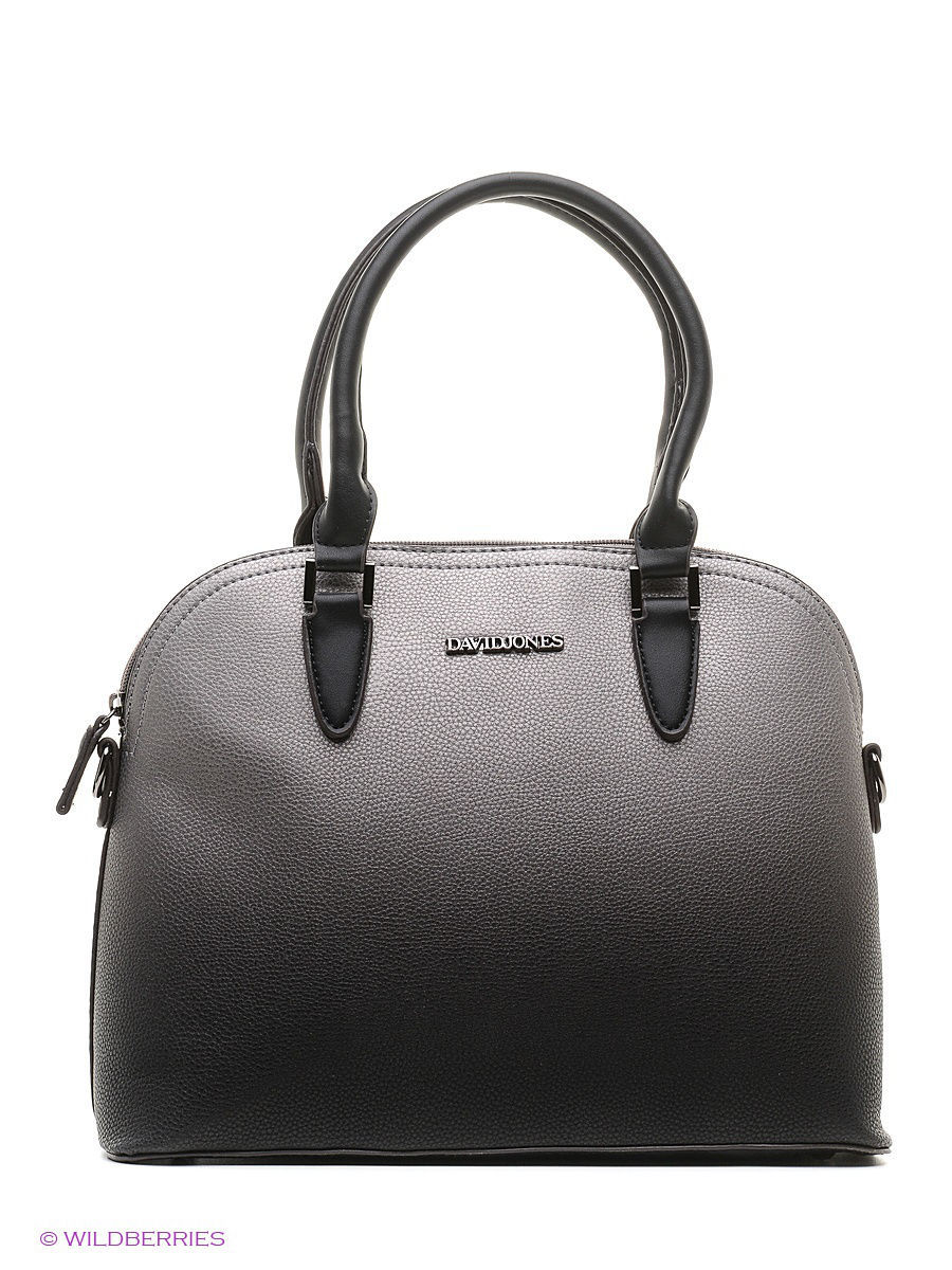 Большая сумка David Jones 5210-4/BLACK/GREY