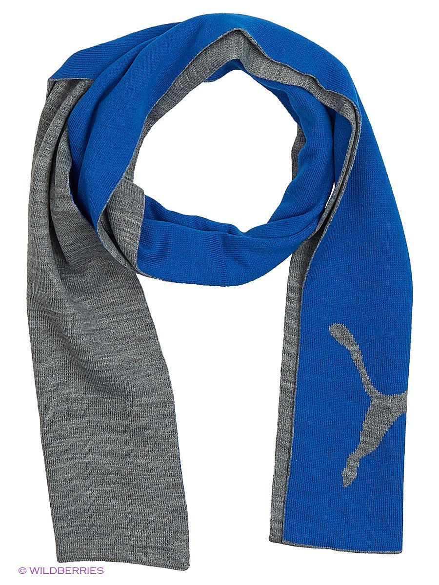 Шарф PUMA Big Cat Knit Scarf 05307602