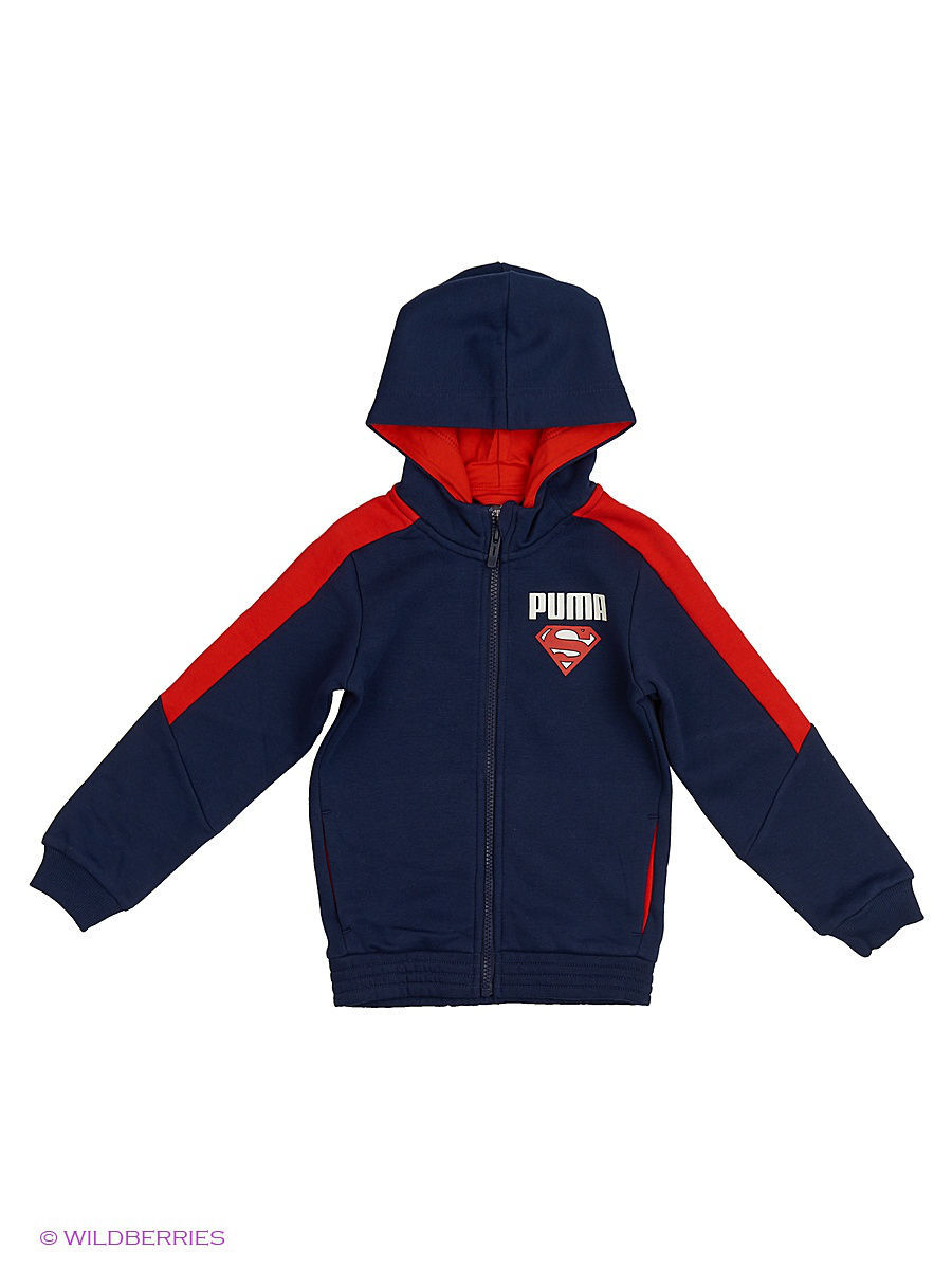 ��������� Superman Hooded Sweat Jacket Puma 838808067