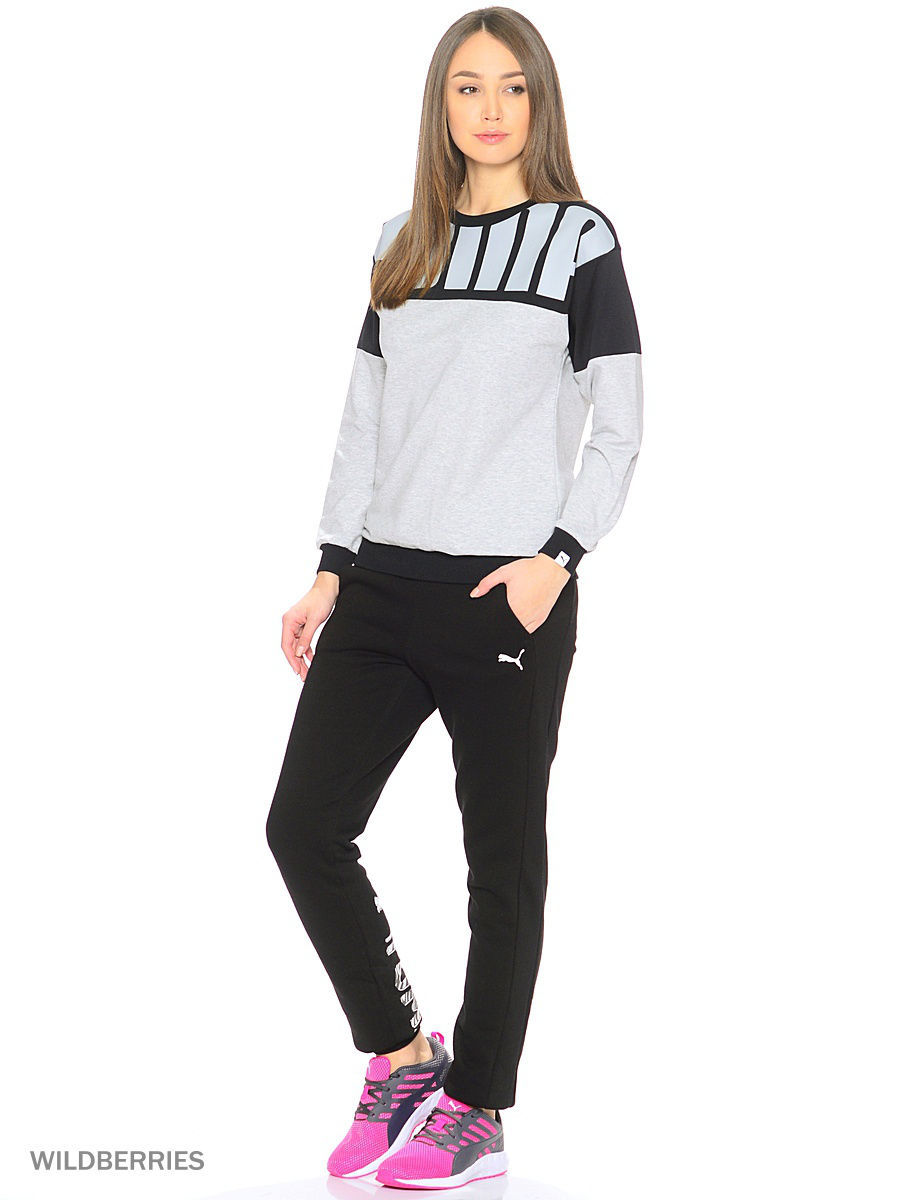 Свитшот STYLE REBEL Crew Sweat W Puma 83850904