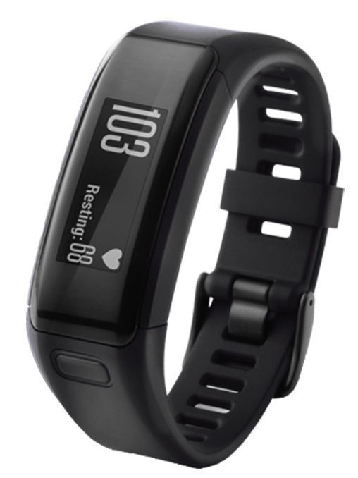 Смарт-часы vivosmart HR Black Large GARMIN 010-01955-15