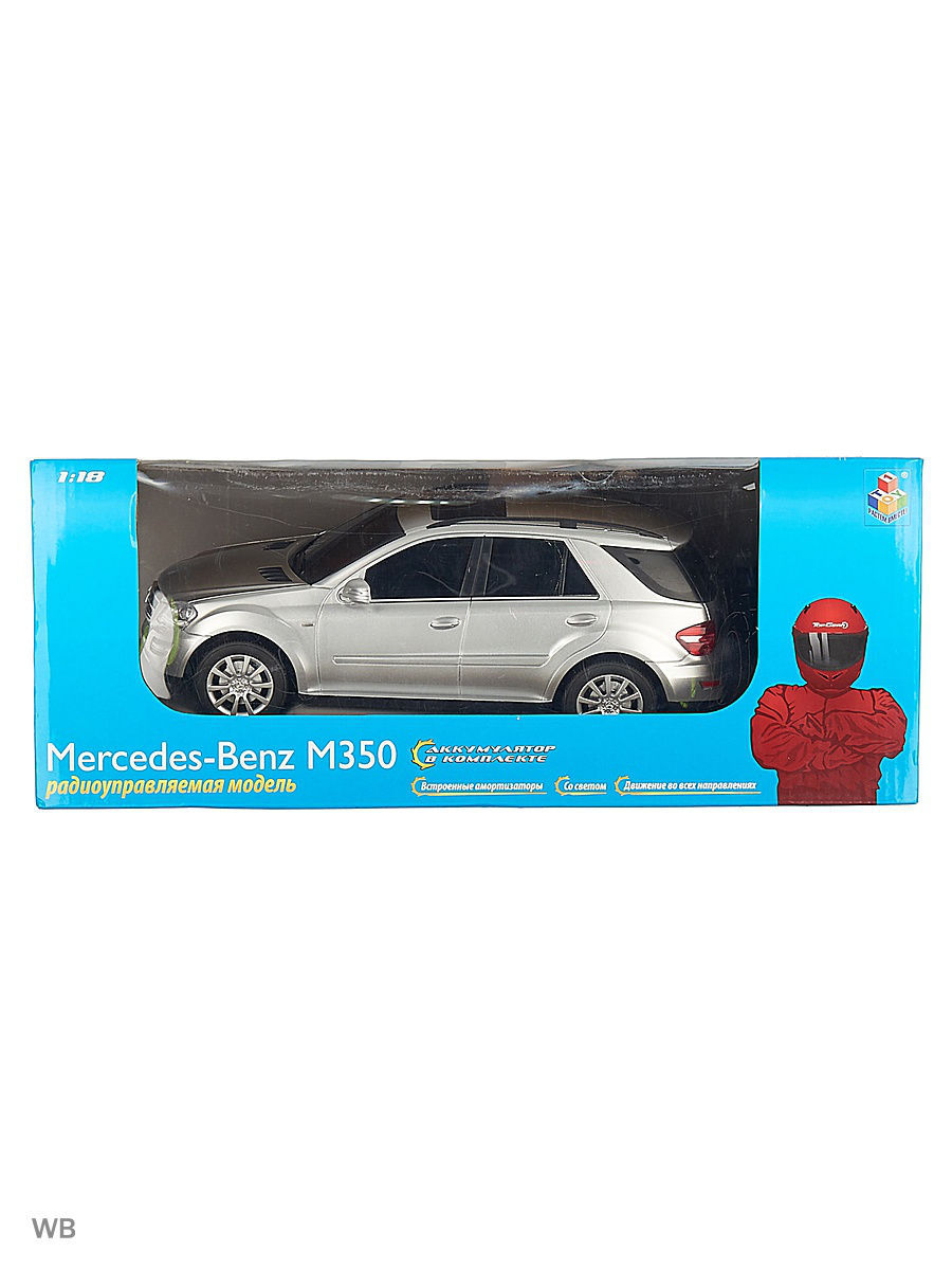 Машинки 1Toy Mercedes Benz M350 1 18 ak ak56023 mercedes benz sl65 1 18 r c car toy silver