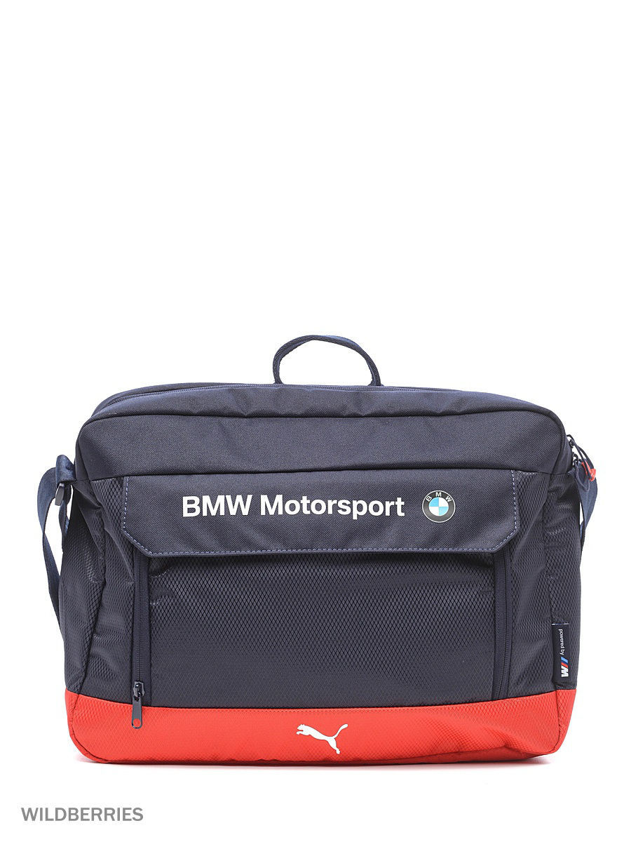 Сумка BMW Motorsport Messenger Bag Puma 07427002