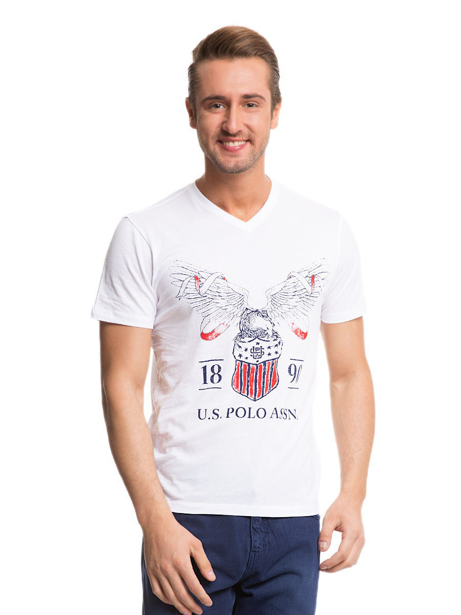 Футболка U.S. Polo Assn. G081SZ0110NICOL/BY0001
