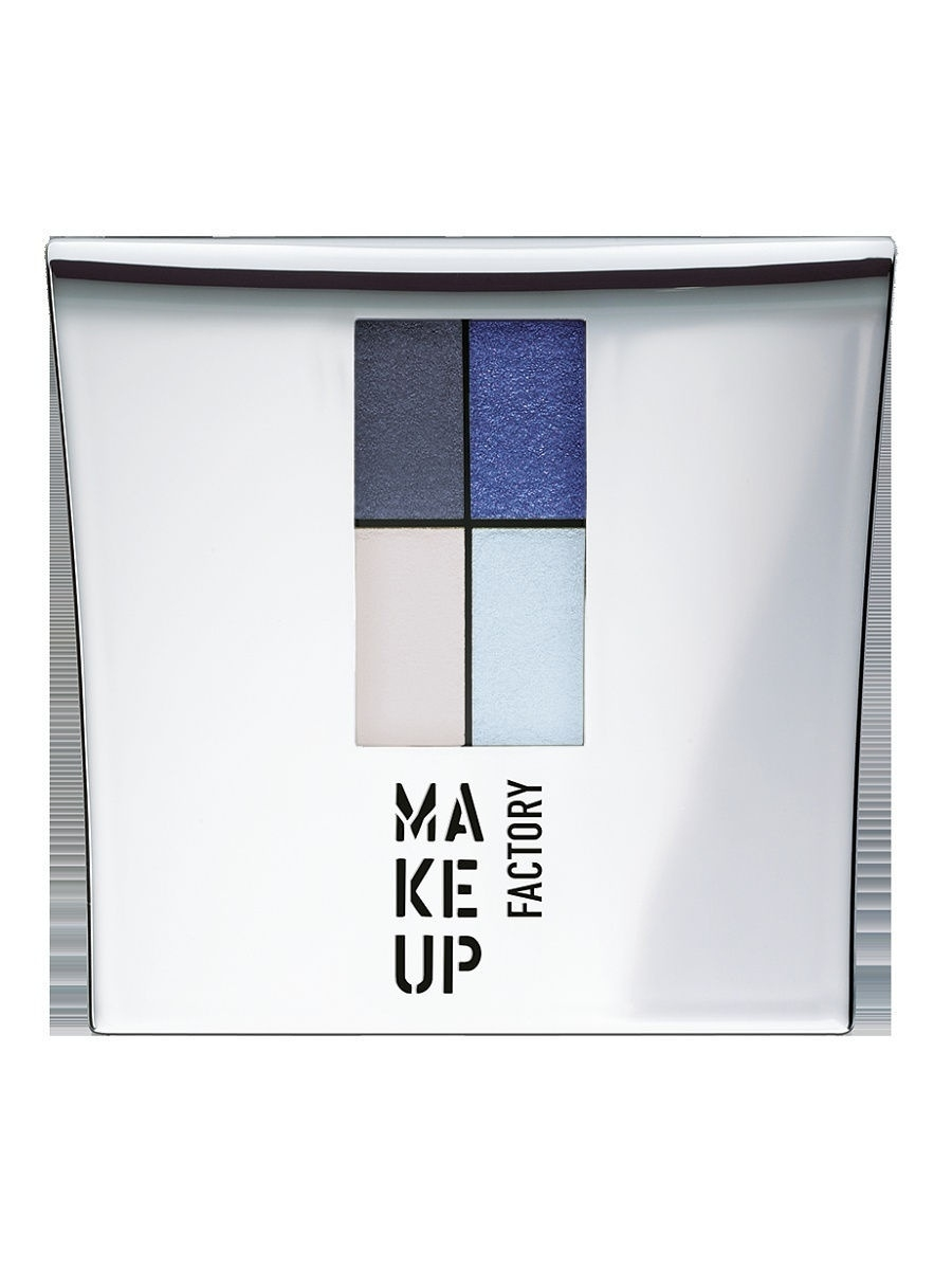 Тени Make up factory Тени для век 4-х цветные Eye Colors №44 тени для век make up factory mat eye shadow 65
