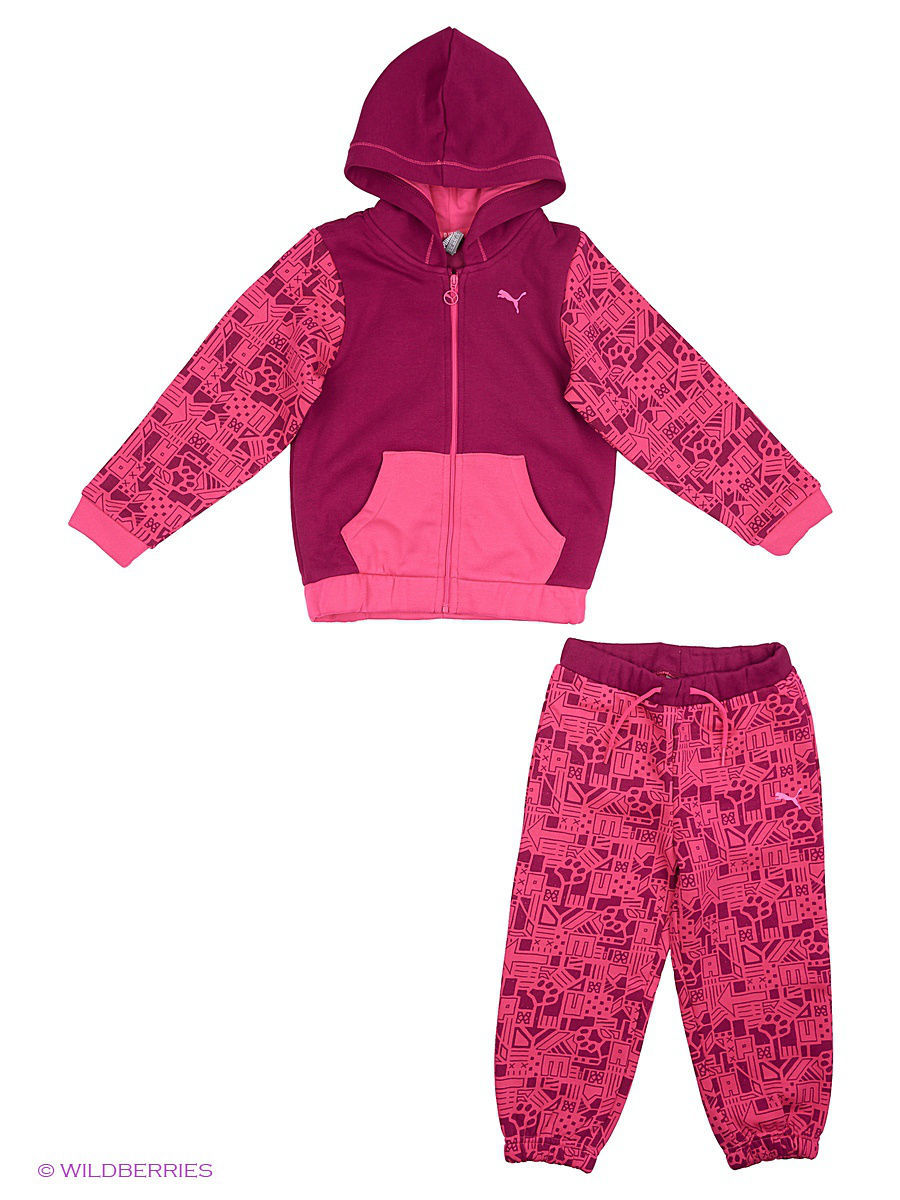 ������ ���������� Style MiniCat Hooded Jogger Puma 838974247