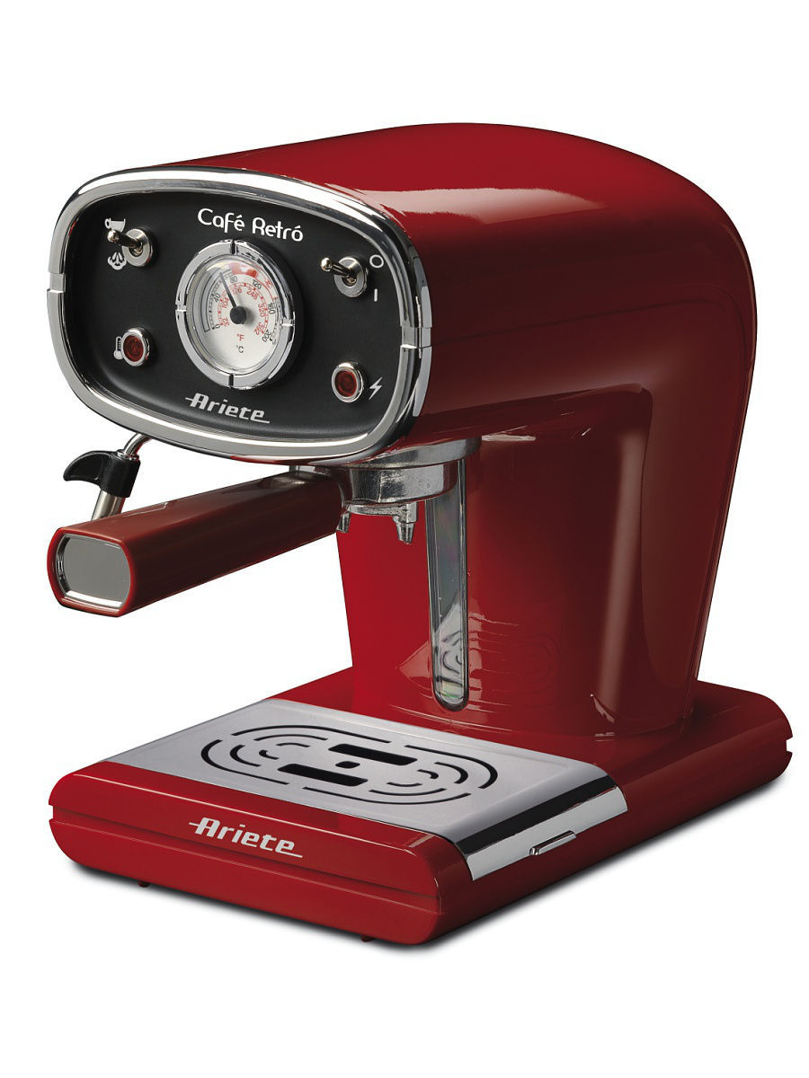 Кофемашины ariete Кофемашина ariete retro 1388a red