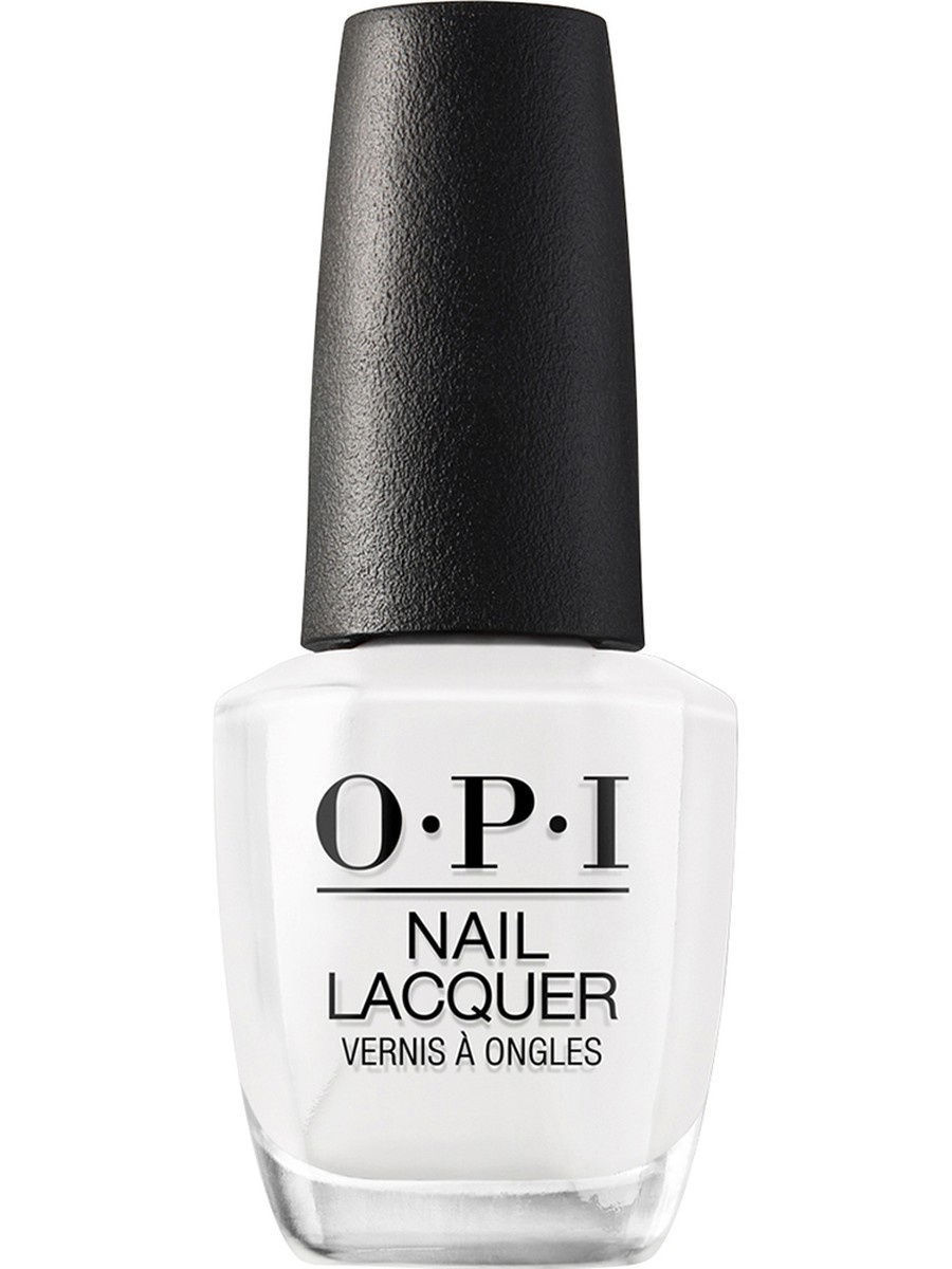 Лаки для ногтей OPI Opi Лак для ногтей ALPINE SNOW, 15 мл opi лак для ногтей me myselfie