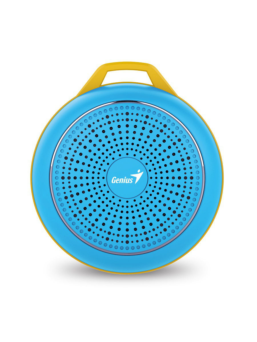 Колонки GENIUS Bluetooth-колонка GENIUS SP-906BT Blue бутылка self bt 002 2 2l blue