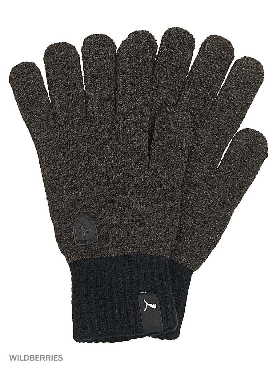 Перчатки Ferrari LS Knit Gloves Puma 04127601