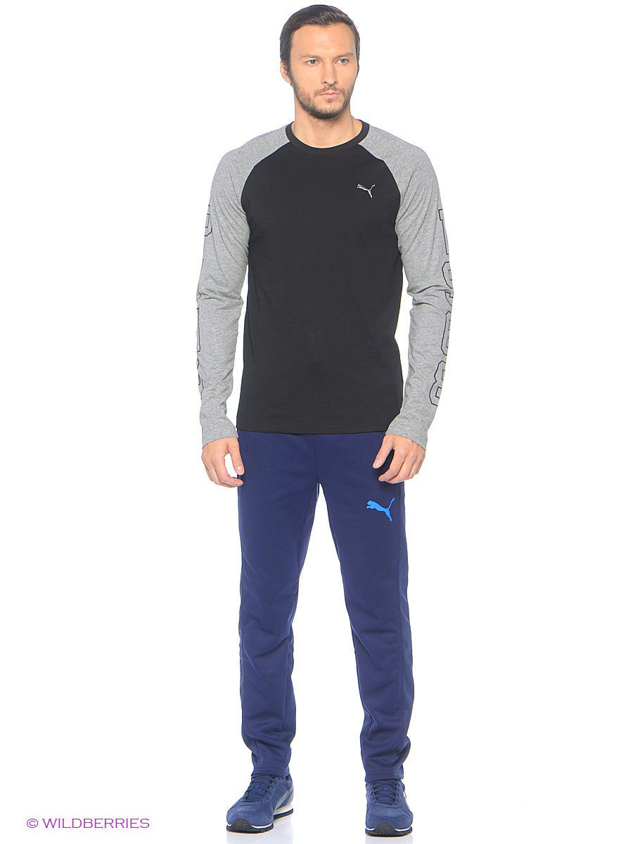 Лонгслив Athletic Baseball Tee Puma 83824601