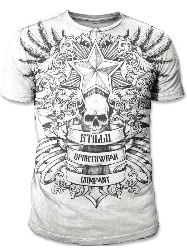 Футболка STILLO Футболка Skull лонгслив stillo yakuza stillo