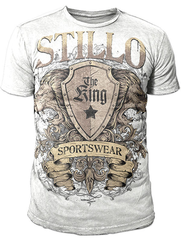 Футболка STILLO Футболка King Lions White лонгслив stillo yakuza stillo