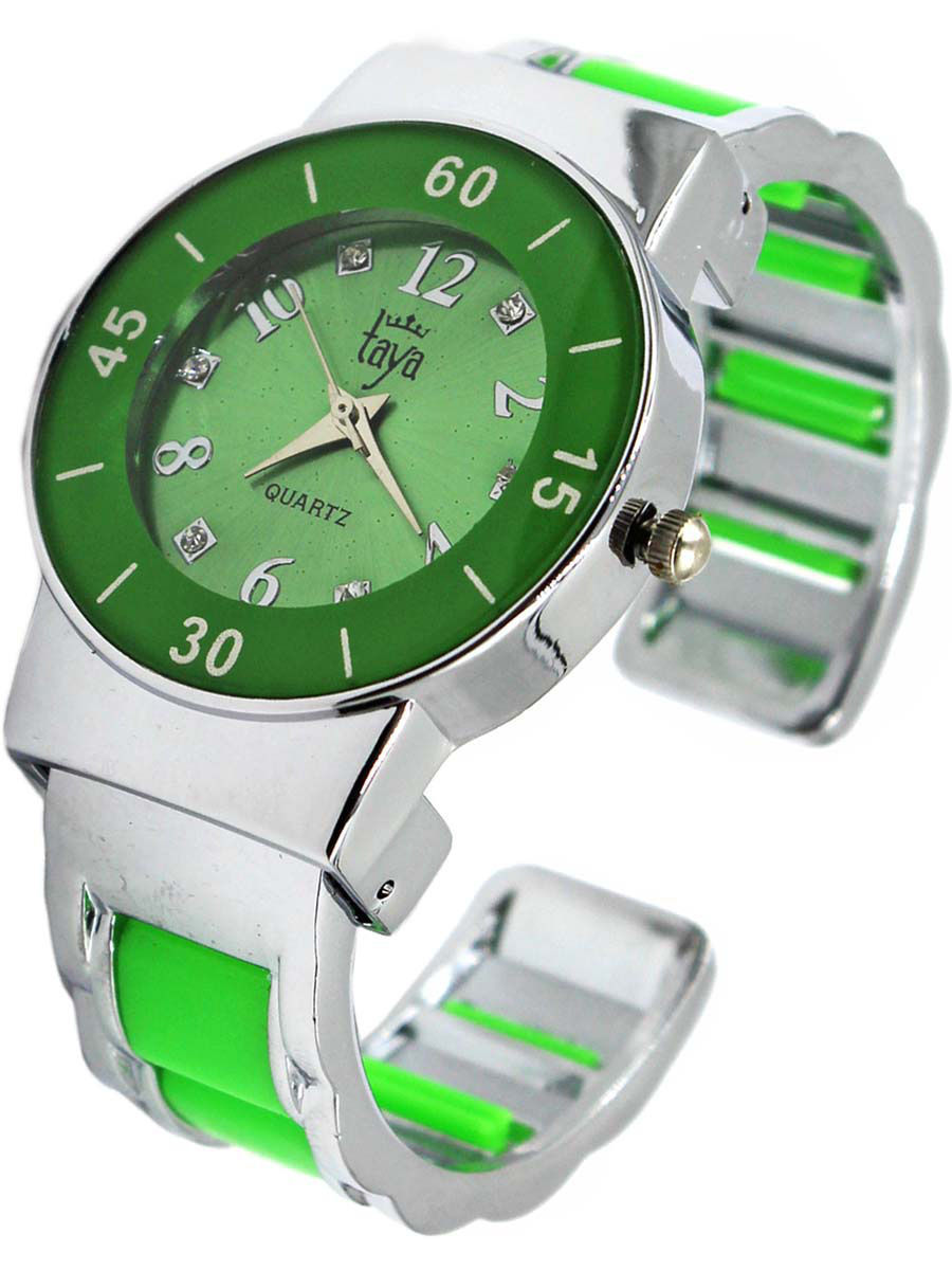 Часы Taya T-W-0466-WATCH-SL.GREEN