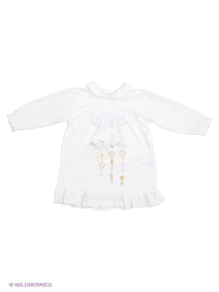 Платье Babycollection Baby338/белый