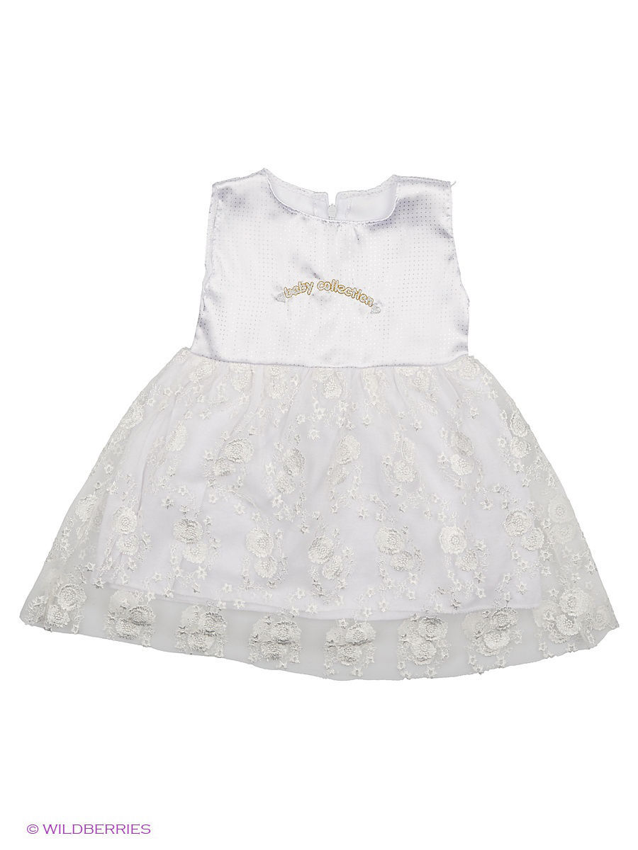 Платье Babycollection Baby450/3/белый