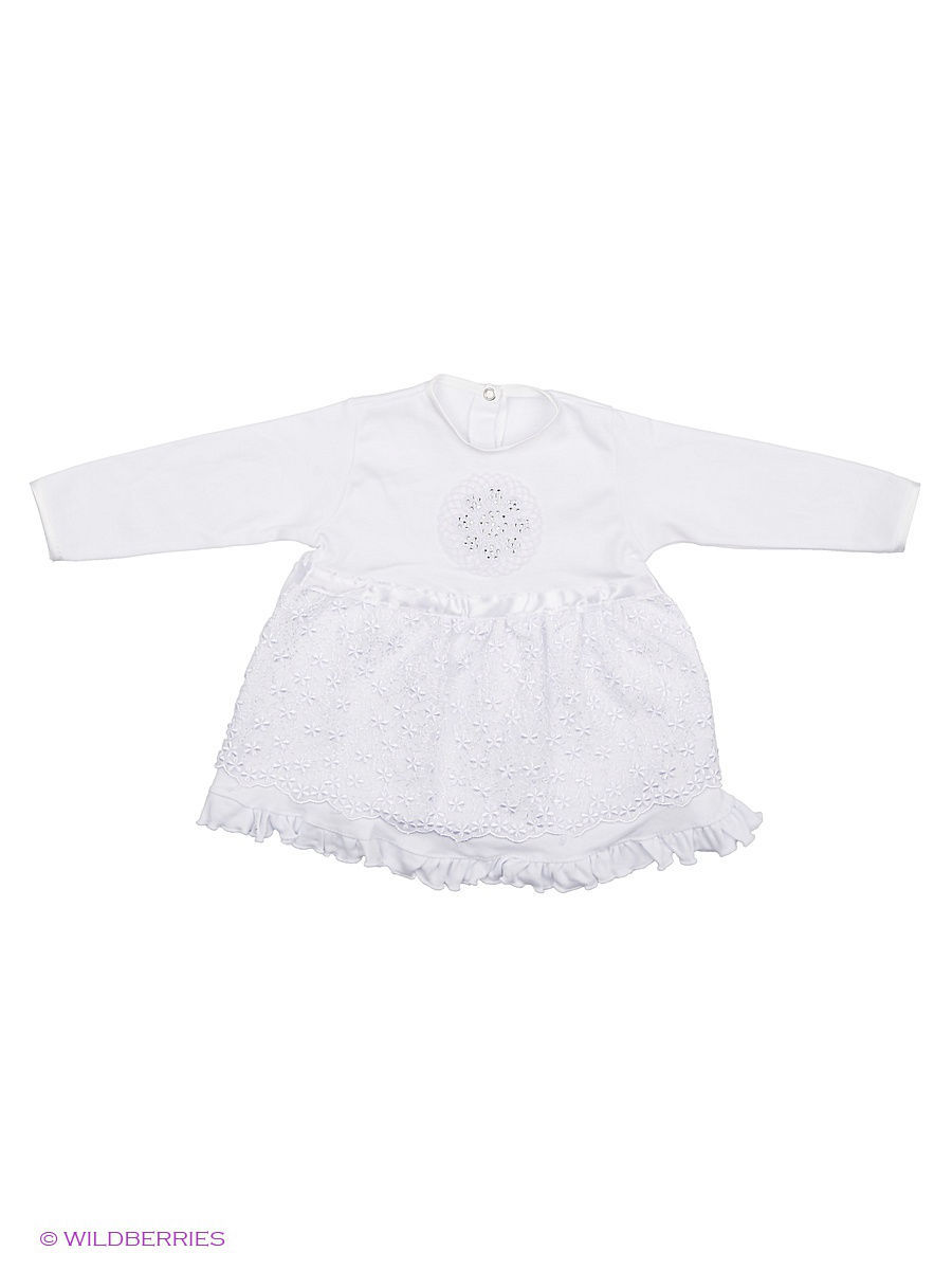Платье Babycollection Baby492/3/белый