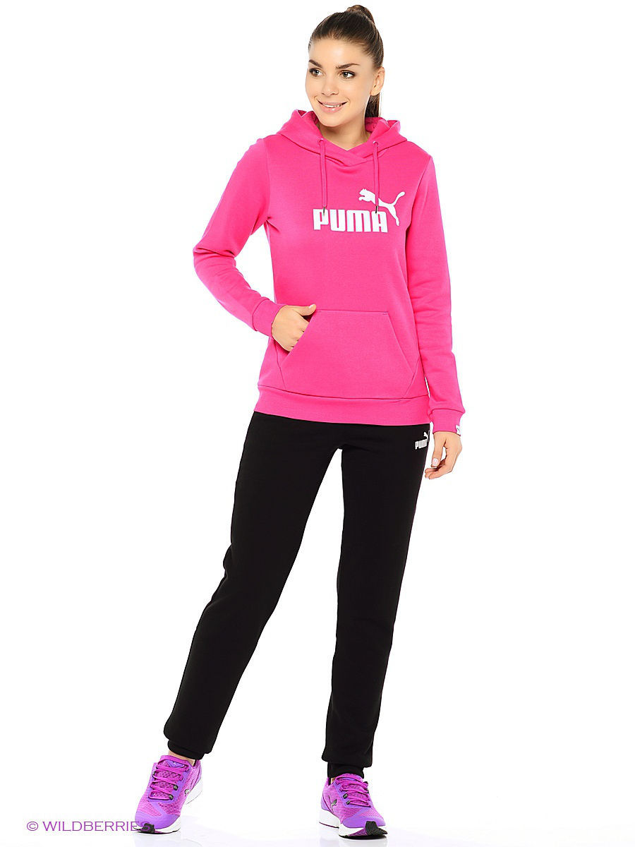 Брюки PUMA Брюки ESS No.1 Sweat Pants FL W puma брюки мужские puma ess sweat