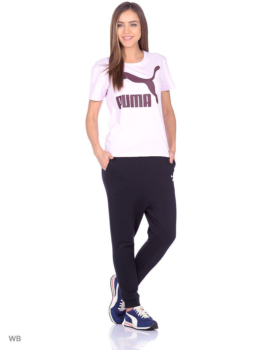 Брюки PUMA Брюки Low Crotch Pants Basic, FL lay low одежда